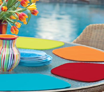 Round Table Neoprene Placemats